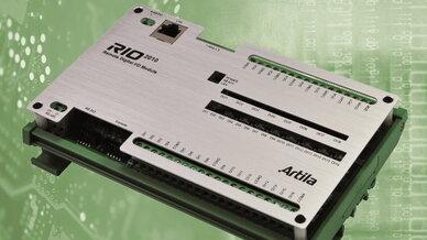 Das bei Acceed erhältliche Datenerfassungsmodul »RIO-2010« von Artila ist für Smart-Metering-Anwendungen optimiert.