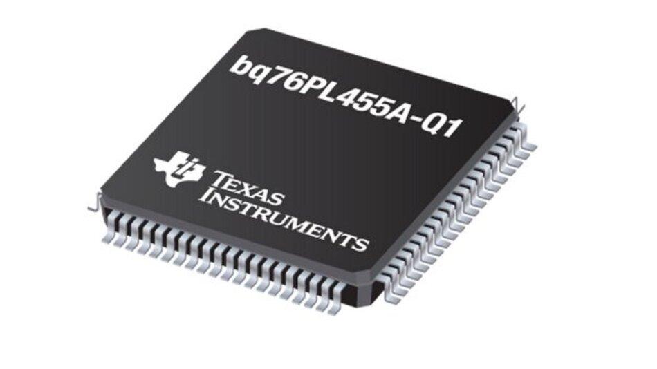 Der bq76PL455A-Q1 soll die Voraussetzungen für ein intelligenteres Batteriemanagement in Elektrofahrzeugen, Hybridfahrzeugen und Netz-Energiespeichersystemen schaffen.
