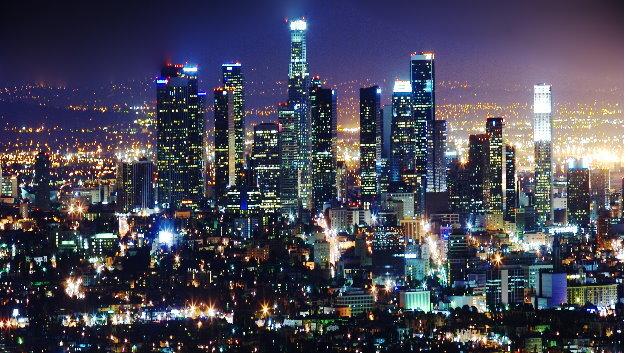 Der Beleuchtungsindustrie kommt eine Schlüsselrolle im Hinblick auf die Erreichung der weltweiten Energieeffizienzziele zu. Hier zu sehen: Straßenbeleuchtung in Los Angeles.