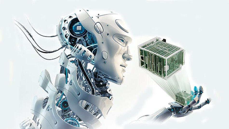Speicherprogrammierbare Steuerung mit Industrie 4.0.