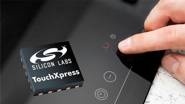 Die TouchXpress-Controller ermöglichen kapazitive Touch-Sensoren schnell und einfach in Produkte zu integrieren.