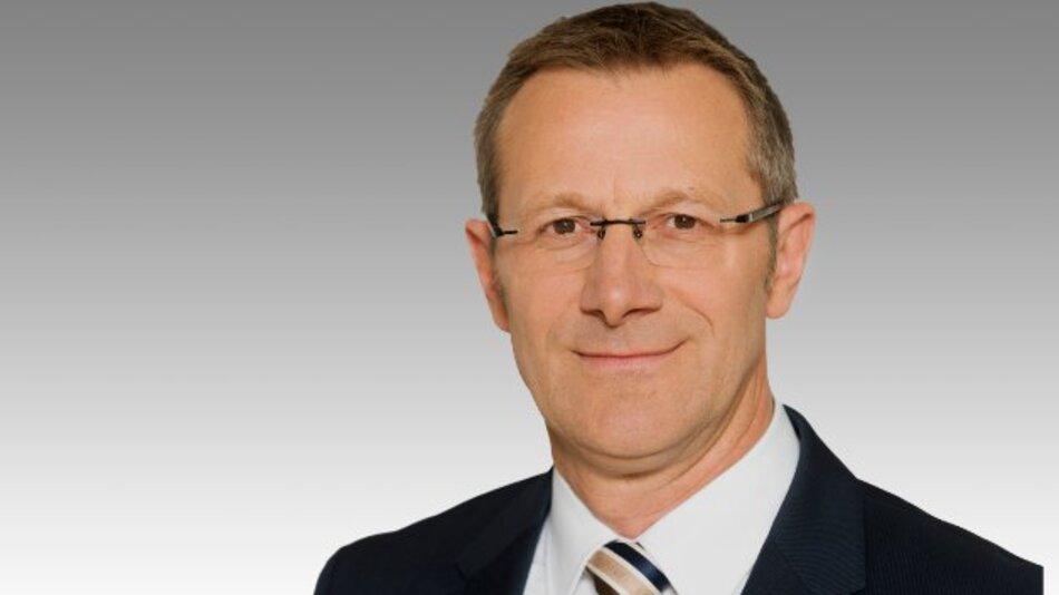 Demnächst Vorstandsvorsitzender von Bosch Rexroth: Rolf Najork