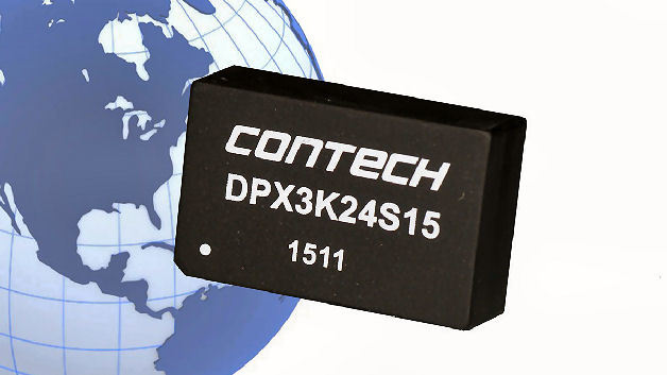 DC/DC Konverter DPX Serie von Contech