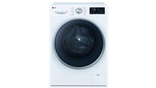 Waschen trocknen slim design bei lg neue waschtrockner mit