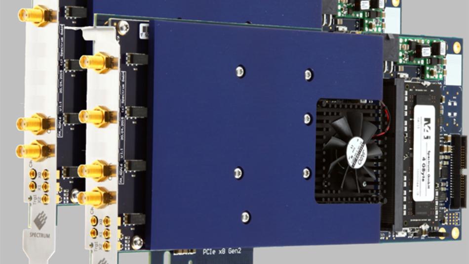Die neuen PCIe-Arbitärgeneratoren von Spectrum erzeugen Signale mit bis zu 1,25 Gsa/s und 16 bit Vertikalauflösung.
