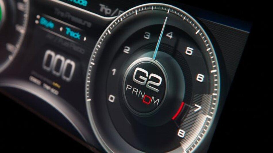 Vom Videospiel ins Fahrzeug: Instrumententafel mit 3D-Effekt.