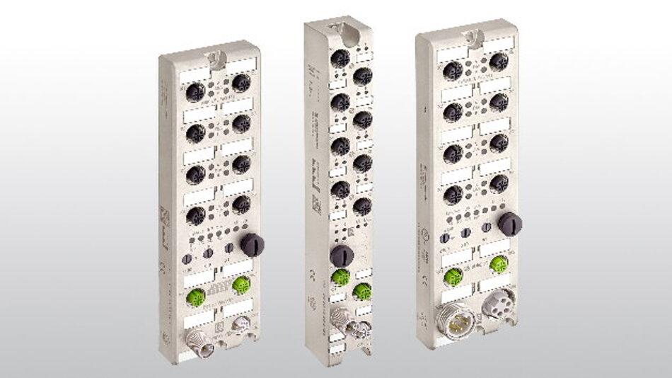 Die neuen Multiprotokoll-I/O-Module erhöhen die Flexibilität in industriellen Anwendungen.