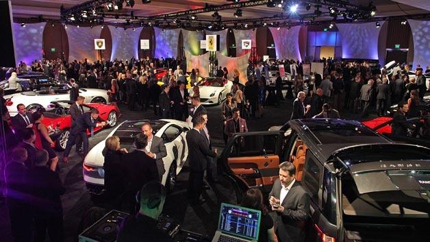 Starke Automesse zu Beginn des Jahres: die North American International Auto Show in Detroit.