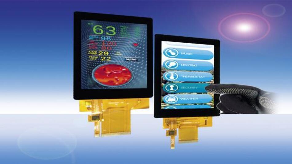 Im Unterschied zur Vorgängergeneration lassen sich Densitrons industrietaugliche IPS-TFT-Displays mit Diagonalen von 4 bis 5 Zoll dank spezieller PCAP-Sensoren auch mit Handschuhen bedienen.