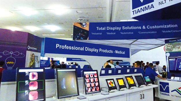 Für Tianma, den chinesischen Hersteller  professioneller Displays, ist Medical  neben Industrial, Automotive und  Communication ein wichtiges Standbein.