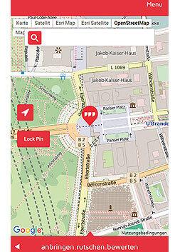 Bild 1. Einen Ort durch die Kombination von drei Worten statt durch umständliche GPS-Koordinaten beschreiben – das ist die Idee von what3words.