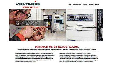Alles Wichtige und Wissenswerte über den bevorstehenden Smart Meter Rollout gibt es auf der neuen Internetseite von Voltaris