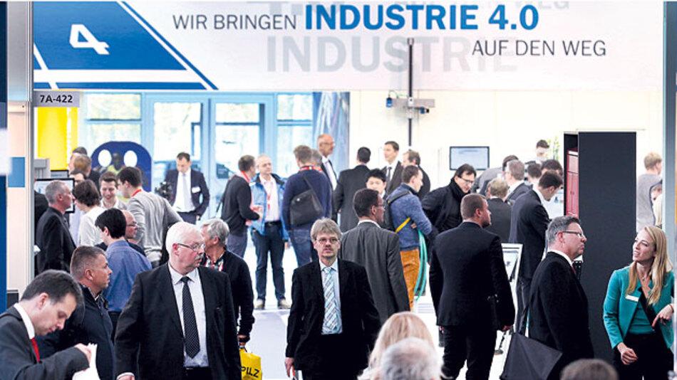 Industrie 4.0 ist die Innovation nicht nur in der Automatisierung-Branche.