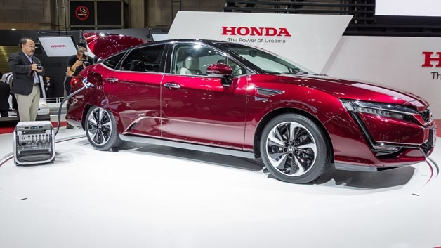 Hondas Antwort auf den Mirai: Der Clarity Fuel Cell.