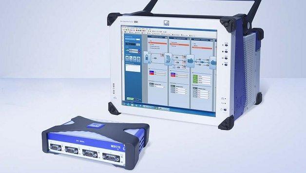Die Software Perception von HBM erfasst mit Hilfe eines Moduls auch CANbus-Signale.
