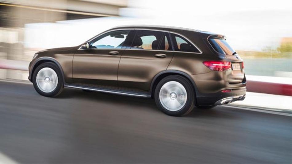 Premiere auf der IAA 2017? Daimler plant mit dem Mercedes-Benz GLC F-Cell einen Brennstoffzellen-SUV.