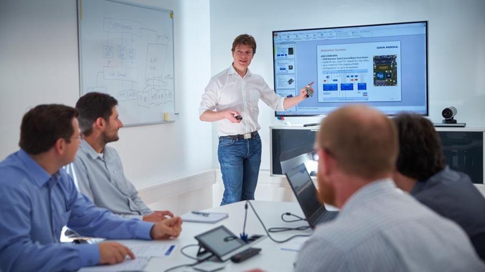 Entwicklungsteam von Data Modul in Deggendorf