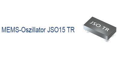 MEMS-Oszillator JSO15 TR von Jauch Quartz