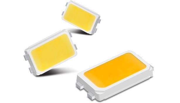 Vertreter der mittleren Leistungsklasse: Samsungs LM561B+ sind für die Innenbeleuchtung konzipiert.