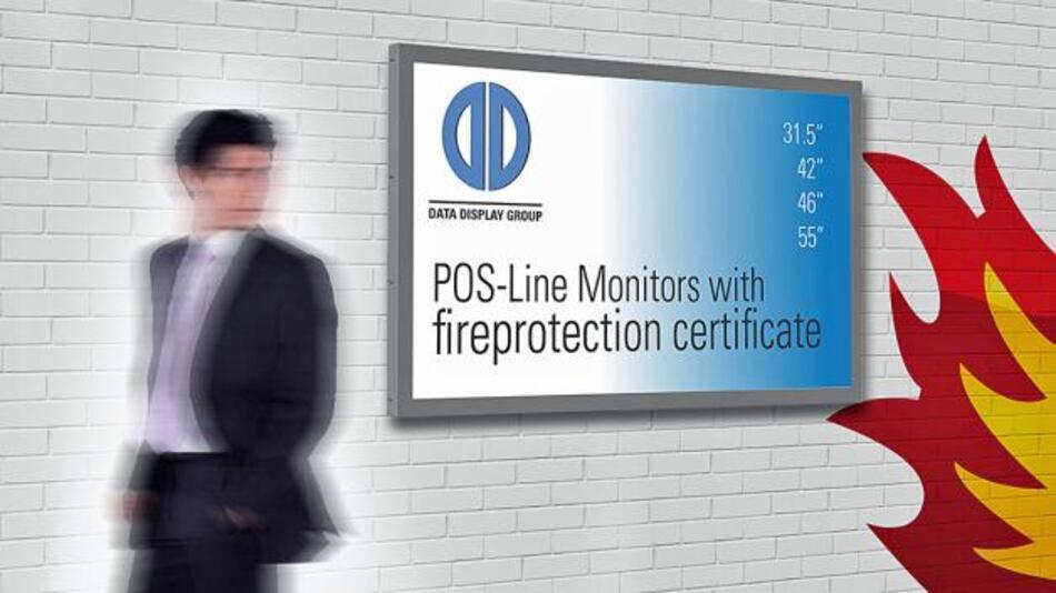 Bereiche mit strengen Brandschutz-Auflagen adressiert Distec mit seinen Rauchgas- und Brandlast-optimierten Monitoren.