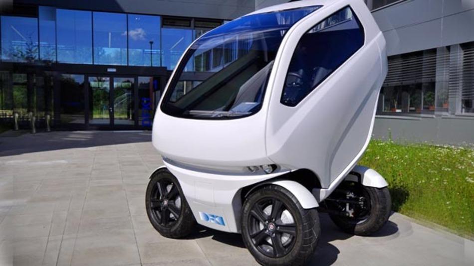 Das EO smart connecting car 2 kam diente als Test- und Demonstrationsfahrzeug im Projekt DaBrEM.