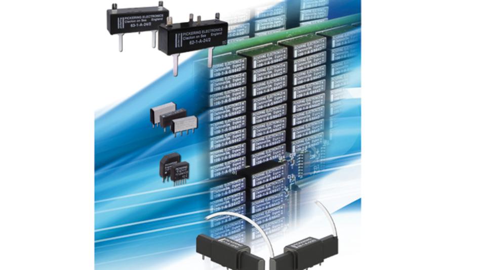 Bei Pickering Electronics dreht sich alles um Reed-Relais, die eine Alternative zu HL-, MEMS- und elektromechanischen Relais sind.