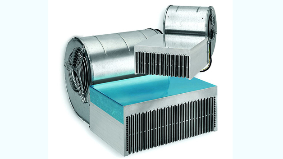 Bild 2. Hochleistungs-Lüfteraggregate finden dann Anwendung, wenn die Entwärmung via freie Konvektion an ihre Grenzen stößt.