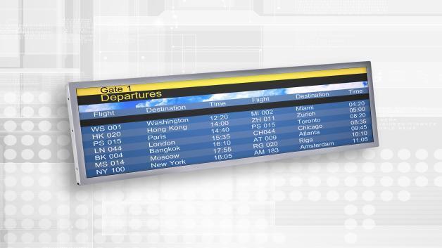 Innolux' 29-Zoll-Stretched-TFT-Display S290AJ1-LE1 (Vertrieb: MSC Technologies) hat eine Helligkeit von 900 cd/m2 und ein hohes Kontrastverhältnis von 5000:1.
