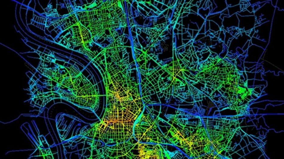 Projekt nextPlace: Raum-Zeit-Muster der intelligenten Mobilität