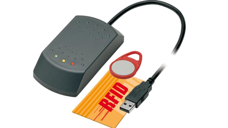 Als Tisch- oder in Montageausführung offeriert phg Datentechnik  seinen RFID-Reader ADMITTO in drei Varianten:  mit USB- oder RS232-Schnittstelle oder mit TCP/IP.