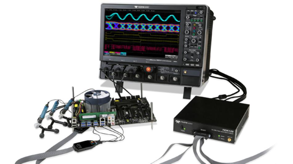 Der HDA125 von Teledyne LeCroy tastet digitalen Signale mit 12,5 GSa/s ab.