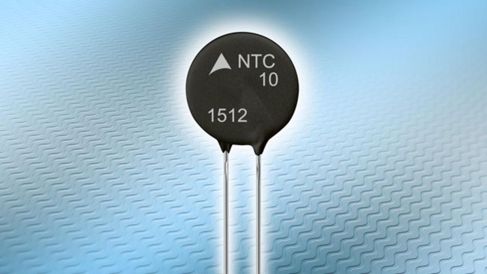 Die neuen NTCs der Serie »P27« eignen sich für das Einschalten großer Motoren und geregelter Antriebe.