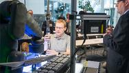 Servicerobotik-System Apas in einer Live Demonstration