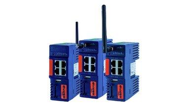 Drei VPN-Router aus der Serie »eWON Cosy 131« von eWON