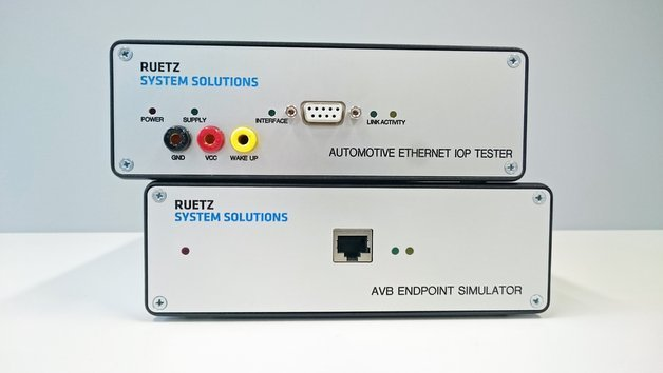Zu den Testlabor-Lösungen von Ruetz gehören unterschiedlichste Testsysteme und -plattformen.