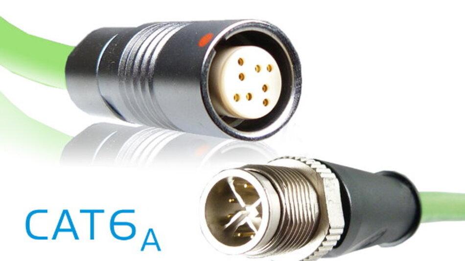 Robuste Steckverbinder für Highspeed-Anforderungen