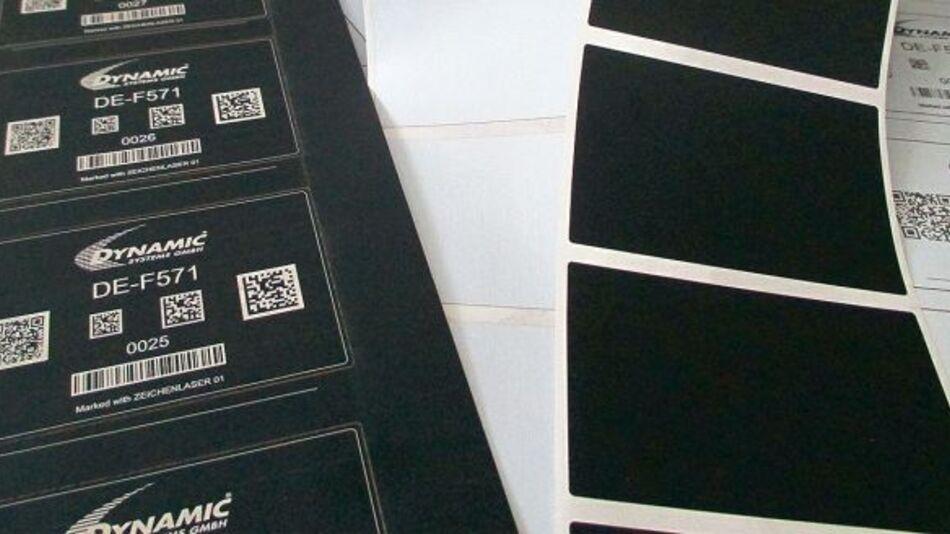 Elektronikkennzeichnung mit lasermarkierbarer Polyimid-Folie