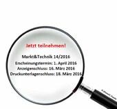 Wirkungs- und Resonanzanalyse in Markt&Technik 14/2016
