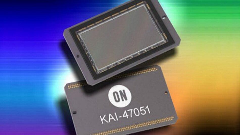 Eine Pixel-Größe von 5,5 x 5,5 µm hat der Interline-Transfer-CCD-Bildsensor KAI-47051 von On Semiconductor.