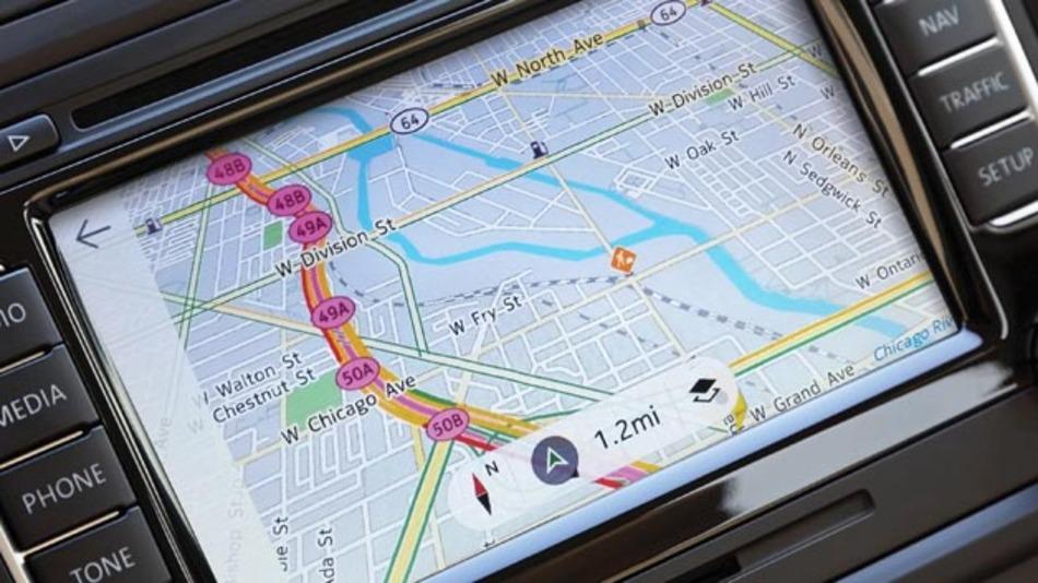 Für Navigationssysteme spielt künftig die Spracherkennung eine wichtige Rolle.