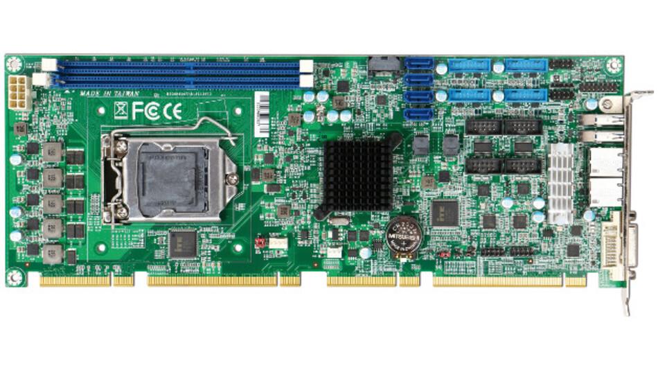 Portswells Robo-8113VG2AR ist eine PICMG-1.3-Slot-CPU-Karte für Skylake-Prozessoren.