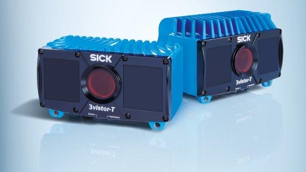 Der Schutzart IP67 entsprechen die 3D-Vision-Sensoren der Serie »3vistor-T« von Sick.