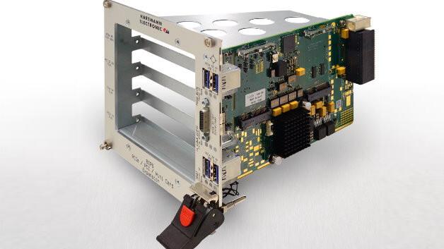 Hartmann Electronic vereint die OpenVPX- und cPCI-Serial-Welt mit Erweiterungskarten aus dem Desktop- und Notebook-Segment.