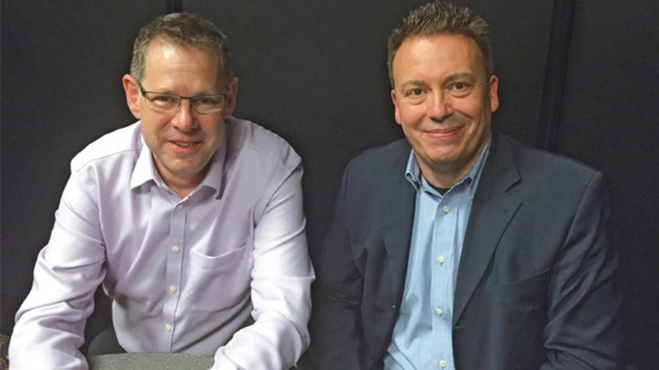 ARMs Gründer und CTO Mike Muller (links) traf D&E-Chefredakteur Frank Riemenschneider zum Exklusivinterview