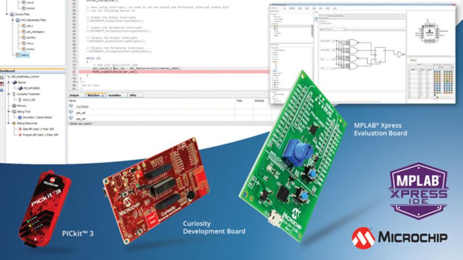 Cloud-basierte Entwicklungsumgebung »MPLAB Xpress«