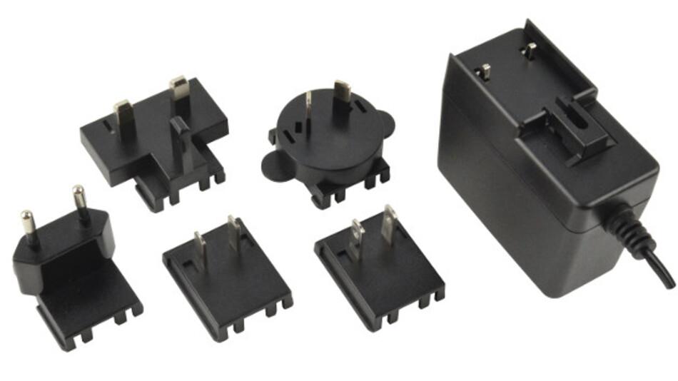 Ausgangsleistungen von 5 bis 36 W bietet die jüngste Serie von Level-VI-konformen Steckernetzgeräten von CUI. Ihre Steckeroptionen erlauben den Einsatz in Nordamerika, Europa, Großbritannien, Australien und China.