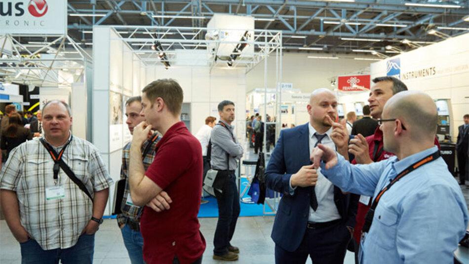 Die EMV-Messe findet vom 23. bis zum 25. Februar statt. Alle Stände befinden sich in der Messehalle und im Foyer des Congress Center Düsseldorf.