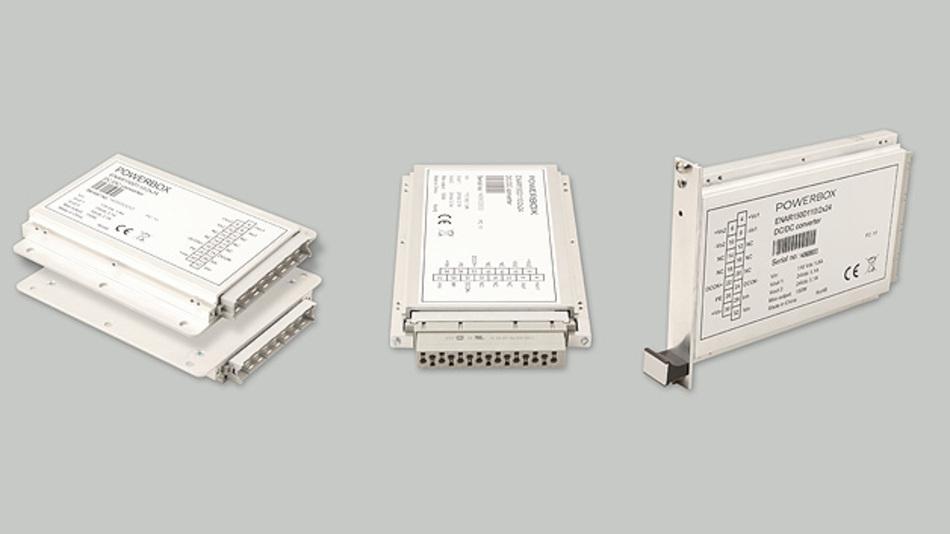 Die DC/DC-Wandler der ENAR150-D-Serie sind für Modernisierungsmaßnahmen im Bahnbereich konzipiert.