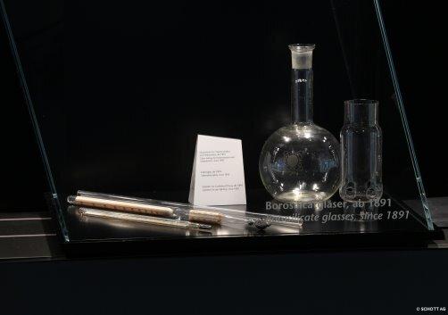 Glasgeräte aus Borosilicat