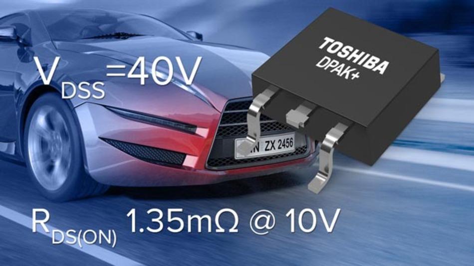 Der 40-V-n-Kanal-MOSFET TK1R4S04PB von Toshiba.